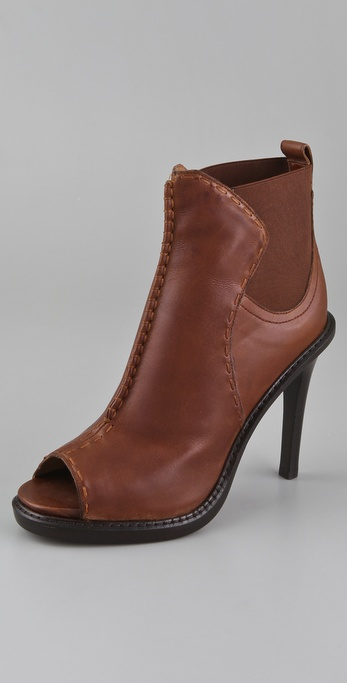 Derek Lam Renee Open Toe Booties
