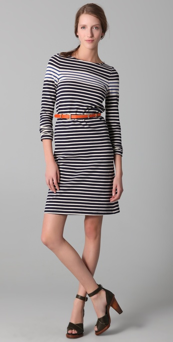 Derek Lam Striped Tunic Dress