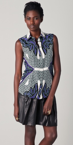 Derek Lam Sleeveless Shirt