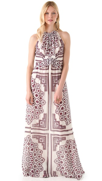 Derek Lam Halter Maxi Dress
