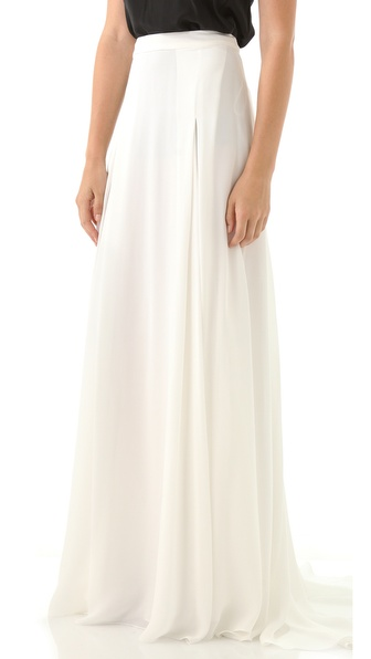 Derek Lam Georgette Maxi Skirt