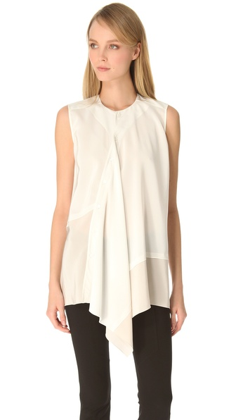 Derek Lam Asymmetrical Blouse