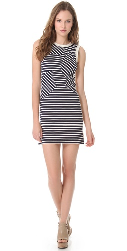 Derek Lam Sleeveless Mosaic Dress