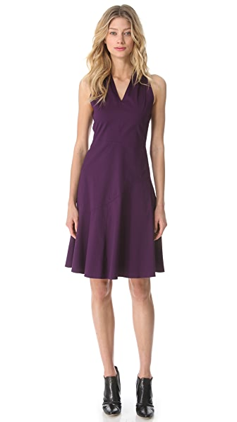 Derek Lam Sleeveless Dress with Twist Back