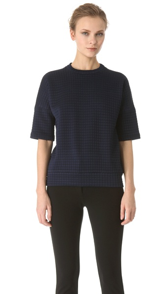Derek Lam Short Sleeve Pullover