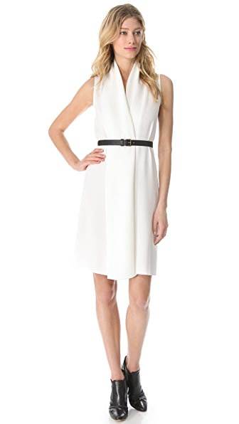 Derek Lam Draped Sleeveless Dress