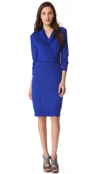 Derek Lam Ruched Sweater Dress