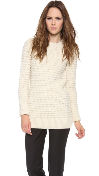 Derek Lam Wool Tunic Sweater