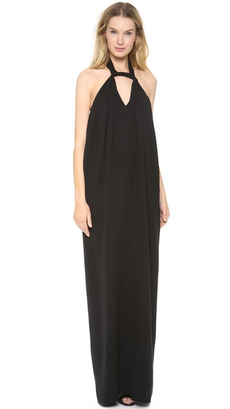 Derek Lam Gown with Embroidered Back Panel