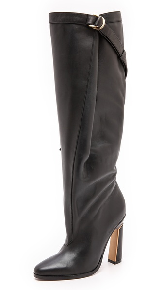 Derek Lam Pleated Knee High Boots