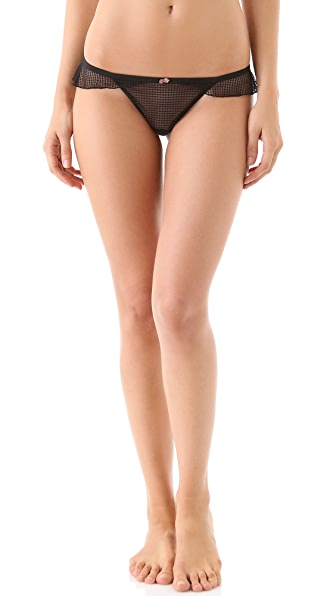DKNY Intimates Super Sleeks Thong