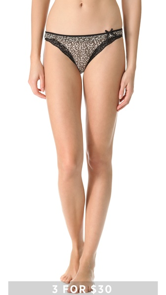 DKNY Intimates Fancy Frills Bikini Briefs