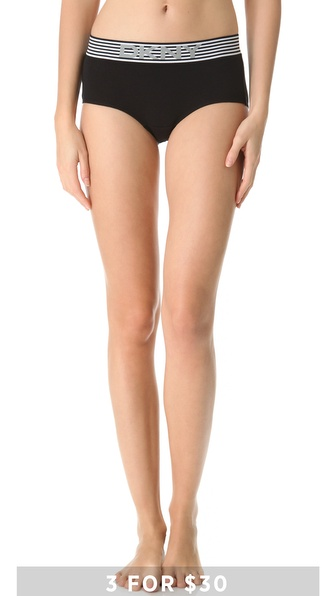 DKNY Intimates Boxery Story Boy Shorts