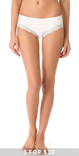 DKNY Intimates Classic Beauty Cotton Hipster at Shopbop.com