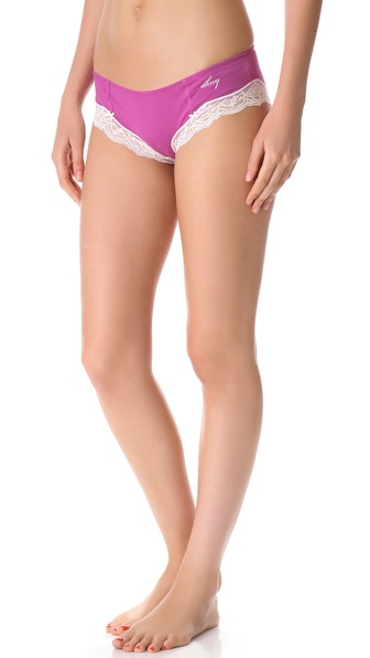 DKNY Intimates Classic Beauty Cotton Hipster Briefs