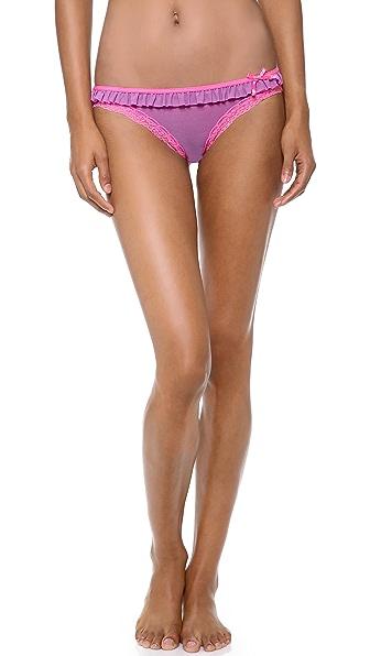 DKNY Intimates Fancy Frills Bikini