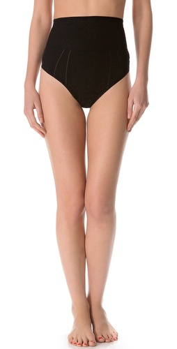 DKNY Intimates Fusion High Waisted Thong at Shopbop.com