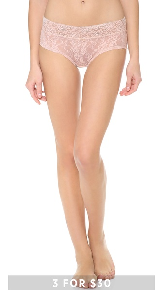 DKNY Intimates Signature Lace Boy Shorts