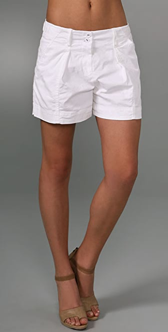 DKNY pure DKNY Pleated Shorts