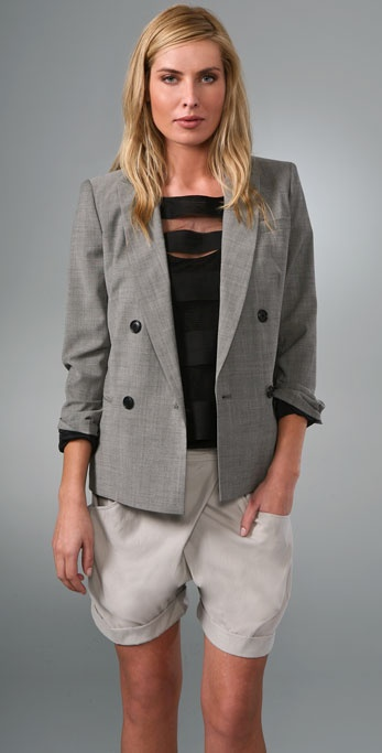 DKNY Double Breasted Jacket