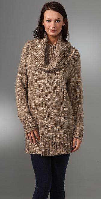 DKNY pure DKNY Cowl Neck Sweater
