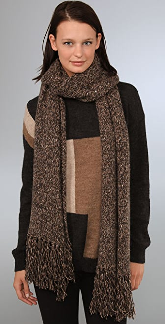 DKNY pure DKNY Scarf with Tassels