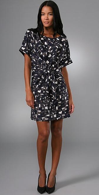 DKNY Dolman Sleeve Dress