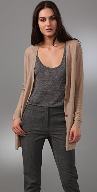 DKNY pure DKNY Reverse Knit Cardigan