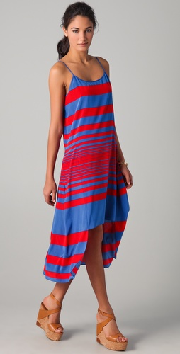 DKNY Maren Striped Dress