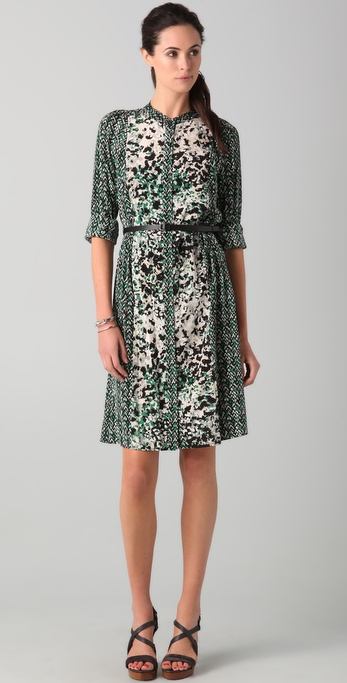 DKNY Harper Print Shirtdress