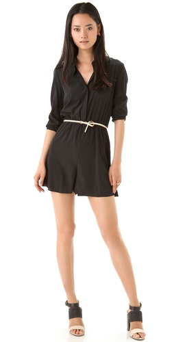 DKNY Button Thru Romper