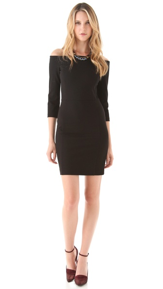 DKNY Off The Shoulder Dress