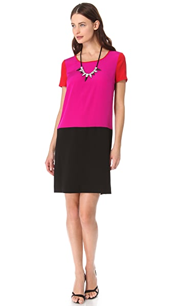 DKNY Colorblock Dress