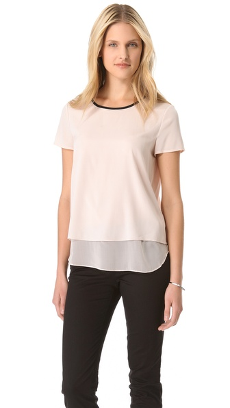 DKNY Tiered Hem Tee
