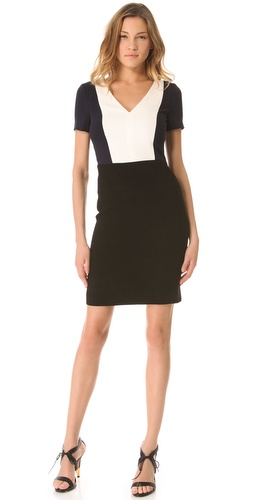 Shop DKNY Colorblock Dress and DKNY online - Apparel,Womens,Dresses,Day_to_Night, online Store