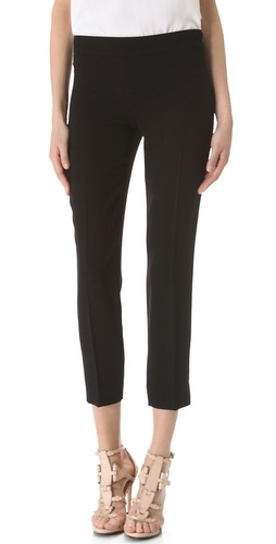 DKNY Perry Cropped Trousers at Shopbop.com