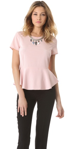DKNY Peplum Blouse at Shopbop.com