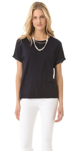 DKNY Cuff Sleeve Sweater at Shopbop.com
