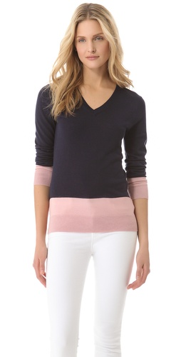 DKNY Colorblock Sweater at Shopbop.com