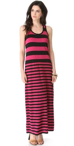 DKNY Racerback Maxi Dress