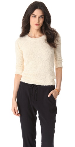 DKNY Textured Pullover at Shopbop.com