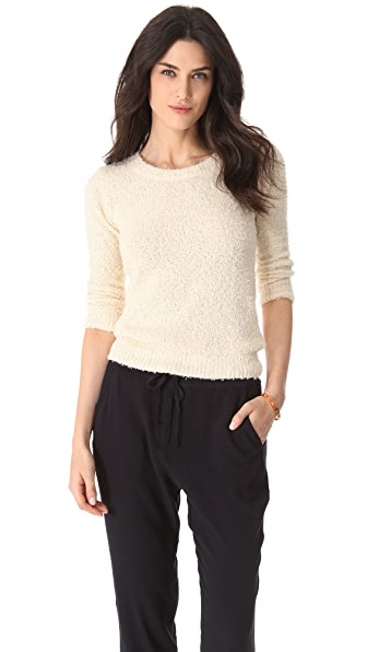 DKNY Textured Pullover