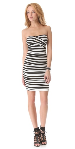 Shop DKNY Gathered Strapless Dress and DKNY online - Apparel, Womens, Dresses, Day_to_Night,  online Store