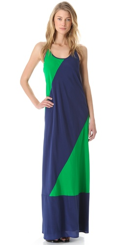 DKNY Colorblock Maxi Dress at Shopbop.com