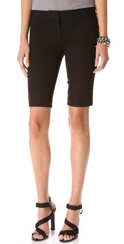 DKNY Flat Front City Shorts at Shopbop.com