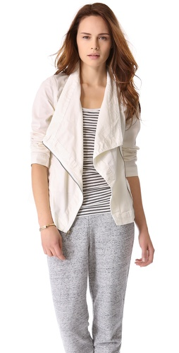 DKNY Pure DKNY Drape Collar Jacket
