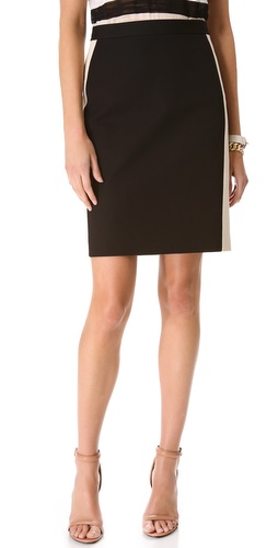 DKNY Pencil Skirt with Contrast Seaming at Shopbop.com