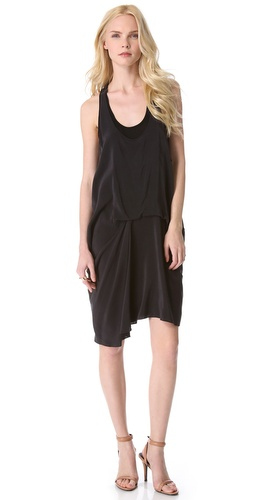 DKNY Pure DKNY Racer Back Dress