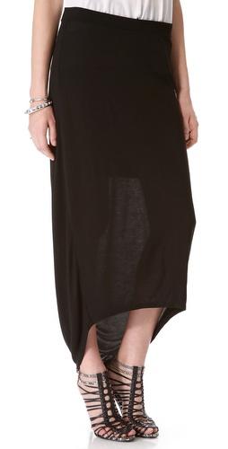 DKNY Pure DKNY Hi Lo Skirt