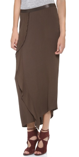 DKNY Pure DKNY Cascade Maxi Skirt at Shopbop / East Dane